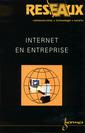 Couverture de l'ouvrage Internet en entreprise (Revue Réseaux 2000, volume 18 n° 104)
