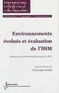 Couverture de l'ouvrage Environnements évolués et évaluation de l'IHM : interaction homme-machine pour les SI 2