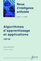 Couverture de l'ouvrage Algorithmes d'apprentissage et applications CAP'99 (Revue d'intelligence artificielle volume 14 n°3-4/2000)