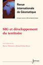 Couverture de l'ouvrage SIG et développement du territoire (Revue internationale de Géomatique Vol.11 n°3-4/2001)
