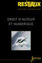 Couverture de l'ouvrage Droit d'auteur et numérique (Réseaux Vol.19 n°110/2001)