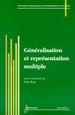 Couverture de l'ouvrage Généralisation et représentation multiple