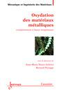 Couverture de l'ouvrage Oxydation des matériaux métalliques