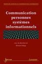 Couverture de l'ouvrage Communication personnes systèmes informationnels