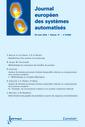 Couverture de l'ouvrage Journal Européen des Systèmes Automatisés RS série JESA Vol.37 N° 6/2003