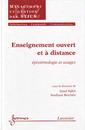 Couverture de l'ouvrage Enseignement ouvert et à distance : épistémologie et usages
