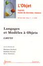 Couverture de l'ouvrage Langages et Modèles à Objets : LMO'05 (L'Objet logiciel, bases de données, réseaux RSTI série l'Objet Vol. 11 N° 1-2/2005)