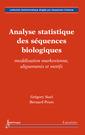 Couverture de l'ouvrage Analyse statistique des séquences biologiques