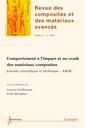 Couverture de l'ouvrage Comportement à l'impact et au crash des matériaux composites journée scientifique... AMAC (Revue des composites et des matériaux avancés Vol. 17 N° 1/2007)