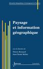 Couverture de l'ouvrage Paysage et information géographique