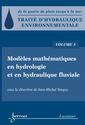 Couverture de l'ouvrage Modèles mathématiques en hydrologie et en hydraulique fluviale