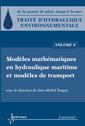 Couverture de l'ouvrage Modèles mathématiques en hydraulique maritime et modèles de transport