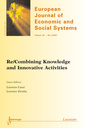 Couverture de l'ouvrage Re/Combining Knowledge and Innovative Activities (European Journal of Economic and Social Systems Vol. 20 N° 2 JulyDecember 2007)