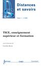 Couverture de l'ouvrage TICE, enseignement supérieur et formation (Distances et savoirs Vol. 7 N° 2/ Avril-Juin 2009)