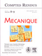 Couverture de l'ouvrage Comptes rendus Académie des sciences, Mécanique, Tome 334, fasc 8-9, AoûtSeptembre 2006 : Observation, analysis and modelling in complex fluid media