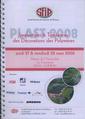 Couverture de l'ouvrage Plast 2008 : innovations et tendances des décorations des polymères (Mars 2008 Manoir de l'Automobile La Courneuve 35550 LOHEAC) CD-ROM + livret