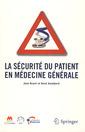 Couverture de l'ouvrage La sécurité du patient en médecine générale