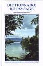 Couverture de l'ouvrage Dictionnaire du paysage