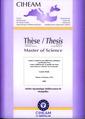 Couverture de l'ouvrage Analyse comparée des différentes politiques au Burkina Faso visant à différencier la qualité du coton pour mieux le valoriser ... (Master of Science N° 94)