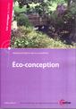 Couverture de l'ouvrage Éco-conception (Les ouvrages du CETIM, bureaux d'études et aide à la conception 6A29, CD-ROM)