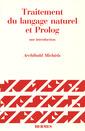Couverture de l'ouvrage Traitement du langage naturel et Prolog
