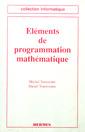 Couverture de l'ouvrage Eléments de programmation mathématique