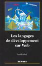 Couverture de l'ouvrage Les langages de développement sur WEB
