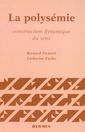 Couverture de l'ouvrage La polysémie