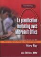 Couverture de l'ouvrage La planification marketing avec Microsoft Office. Traitement de données avec Microsoft Excel 2007. Effectuer un diagnostic marketing...(Avec CD-ROM)