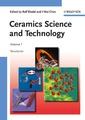 Couverture de l'ouvrage Ceramics science & technology. Volume 1 : Structures