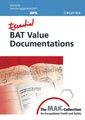 Couverture de l'ouvrage Essential BAT value documentations : from the MAK : Collection for occupational health & safety