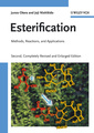 Couverture de l'ouvrage Esterification: methods, reactions & applications with CD-ROM