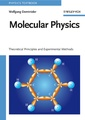 Couverture de l'ouvrage Molecular physics : An introduction to theoretical principles & experimental methods