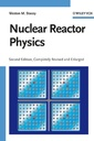 Couverture de l'ouvrage Nuclear reactor physics