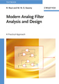 Couverture de l'ouvrage Modern analog filter analysis and design: a practical approach (paperback)
