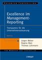 Couverture de l'ouvrage Excellence im management reporting : transparenz für die unternehmenssteuerung