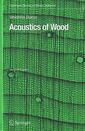 Couverture de l'ouvrage Acoustics of wood