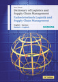 Couverture de l'ouvrage Dictionary of logistics & supply chain management. English-German - GermanEnglish
