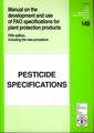 Couverture de l'ouvrage Manual on the development and use of FAO specifications for plant protection products, 5th Ed. including the new procedure