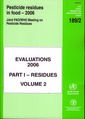 Couverture de l'ouvrage Pesticides residues in food