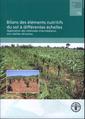Couverture de l'ouvrage Bilans des éléments nutritifs du sol à différentes échelles