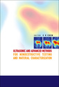 Couverture de l'ouvrage Ultrasonic & advanced methods for nondestructive testing & matherial characterization