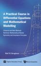 Couverture de l'ouvrage Pratical course in differential equation