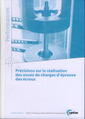 Couverture de l'ouvrage Précisions sur la réalisation des essais de charges d'épreuve des écrous