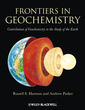 Couverture de l'ouvrage Frontiers in geochemistry