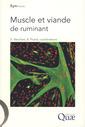 Couverture de l'ouvrage Muscle et viande de ruminant