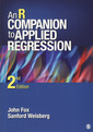 Couverture de l'ouvrage An R companion to applied regression