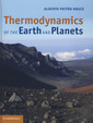 Couverture de l'ouvrage Thermodynamics of the Earth and Planets