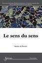 Couverture de l'ouvrage Le sens du sens