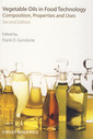 Couverture de l'ouvrage Vegetable oils in food technology: Composition, properties and uses